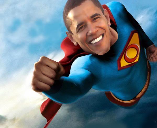 Barack Obama - superman