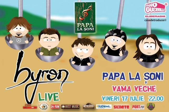Concert byron in Vama - 17 iunie 2009
