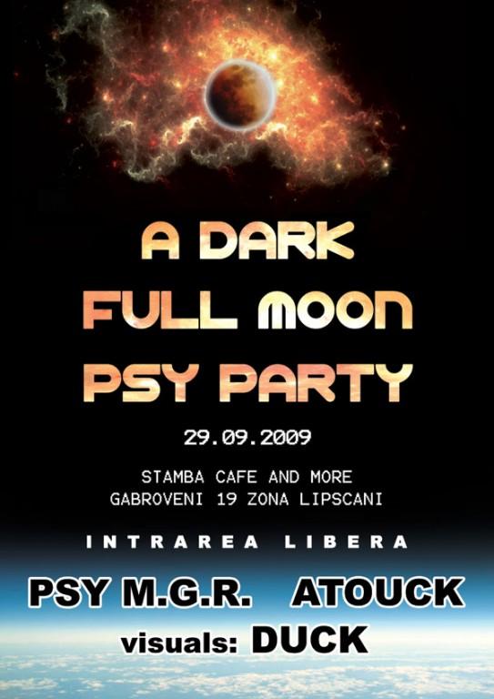 A Dark Full Moon PSY Party