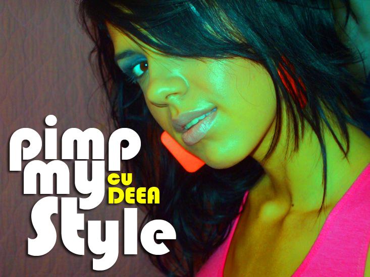 pimp my style cu deea tricou larg